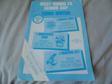 Leeds United 1987 West Riding Senior Cup